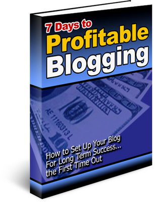 Product picture 7 Days to Profitable Blogging: How to Set Up Your Blog (MRR)