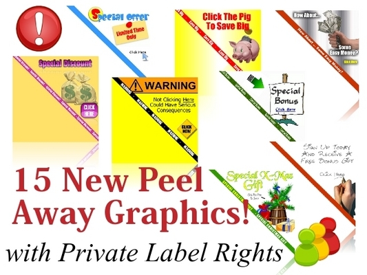 Product picture 15 New Peel Away Website Graphics (PLR)