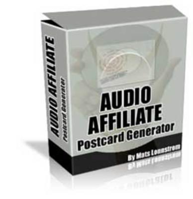 Product picture Audio - Video Postcard Generator (MRR)