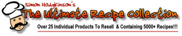 Product picture The Ultimate Recipe Book Collection  (MRR)