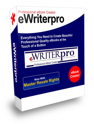 Product picture eWriterPro - Create Professional Quality eBooks  (MRR)